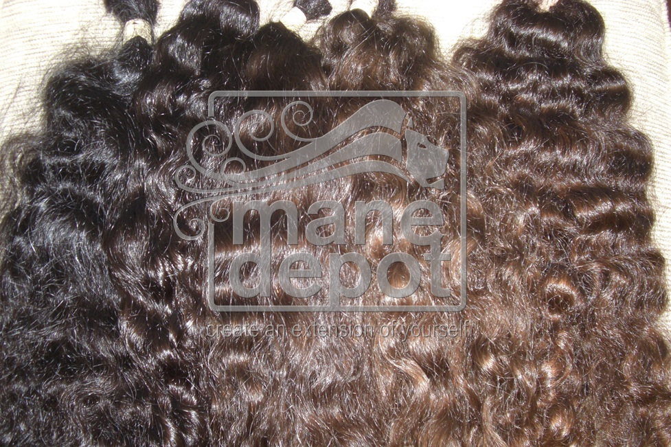 Virgin Brazilian Hair Coarse Curly