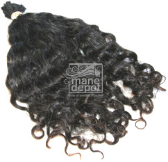 Virgin Brazilian Curly Coarse Hair Wavy Mane Depot