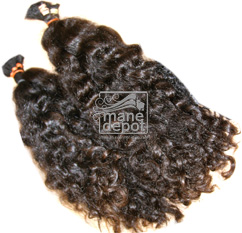 Virgin Brazilian Curly Coarse Hair Curls Mane Depot