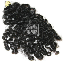 Virgin Brazilian Molado Coarse Curly Hair Mane Depot