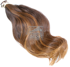 Virgin Brazilian Dark Blonde Hair with natural body Mane Depot