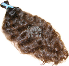 Virgin Brazilian Coarse Hair Wavy Mane Depot