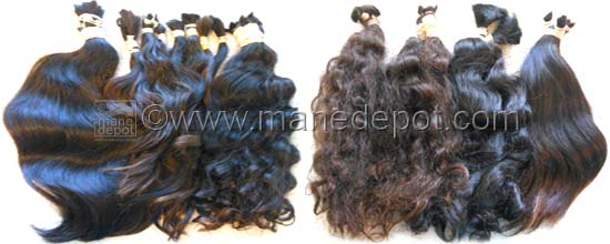 Virgin South American Hair Mane Depot Wavy Curly Molado Belorio
