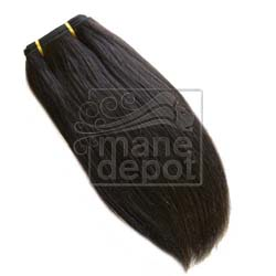 Malaysian Remy Salon Relaxed Straight Hair