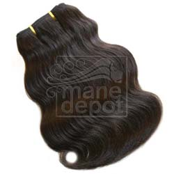Malaysian Remy Salon Relaxed Gentle Wave Hair