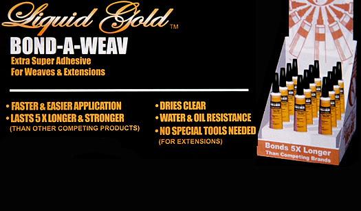 Liquid Gold Bond A Weav