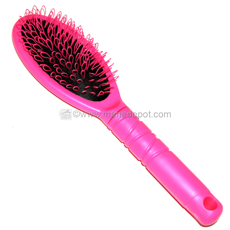 Pink Looper Brush For Hair Extensions Manedepot