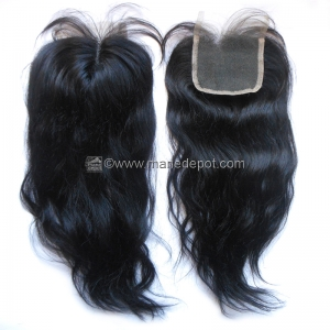Malaysian Remy Natural Straight Lace Top Closure