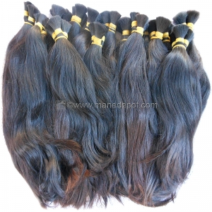 "Raw Virgin Vietnamese Remy Bulk Hair 90grams 12""-15"""