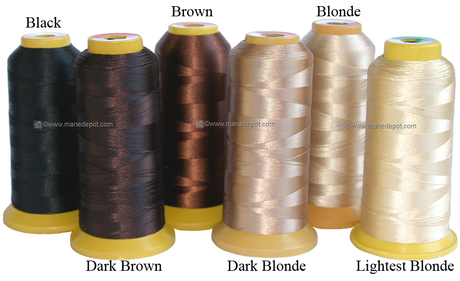 Best Nylon Hair Extension Weaving Weave Thread Manedepot