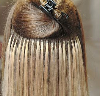 Extenshells short hair extension attachment ring manedepot installed ring attachments for hair extensions pmusecretfo Images