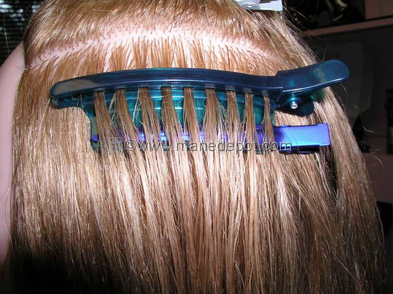 Ez Separator Speed Clip Sectioning For Hair Extensions Manedepot