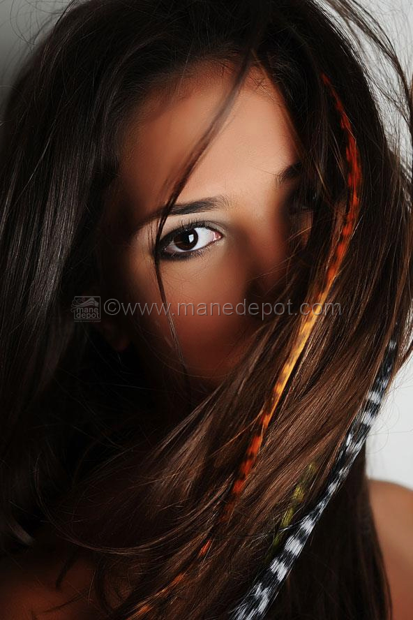 Synthetic grizzly feather i tip hair extensions grizzly feather i tip hair extensions shown in red and silver pmusecretfo Images