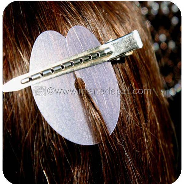 Hair template for attaching hair extensions manedepot using a hair template for installing hair extensions keeps your installation free and clear of stray or crossover hair pmusecretfo Choice Image