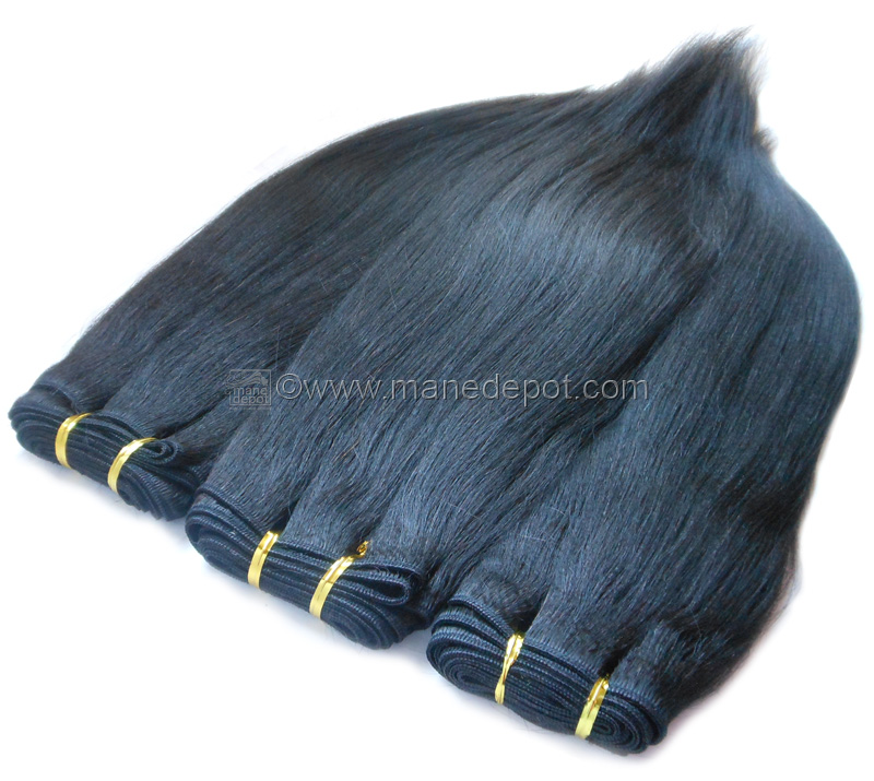 Malaysian Remy Salon Relaxed Straight Manedepot
