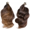 Purchasing Raw Virgin Brazilian South American Hair, your order will consist of numerous single donor ponytails. Each ponytail is cut from one person and remains in the original bands when the hair was cut.