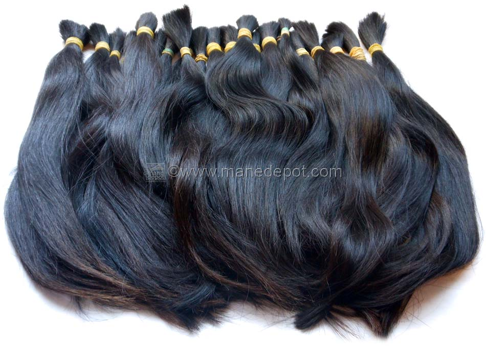 Raw Virgin Unprocessed Vietnamese Remy Bulk Hair - ManeDepot.com 8be471e65f66
