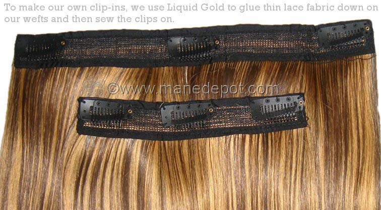 Weave Toupee Clips For Attaching Hair Extensions Manedepot