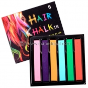 Hair Chalk 6 Piece Set