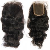 Malaysian Remy Natural Wave Lace Top Closure
