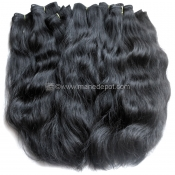 "Virgin Vietnamese Remy Natural Wave Machine Weft 12""-15"""