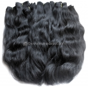 "Virgin Vietnamese Remy Natural Wave Machine Weft 24""-28"""
